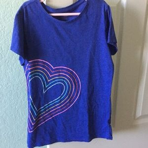 girls heart tshirt